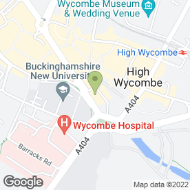 Map of The Royal British Legion Clubs in High Wycombe, buckinghamshire