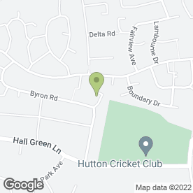 Map of Bonita in Hutton, Brentwood, essex