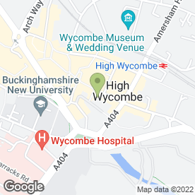 Map of McDonald's Restaurants Ltd in High Wycombe, buckinghamshire