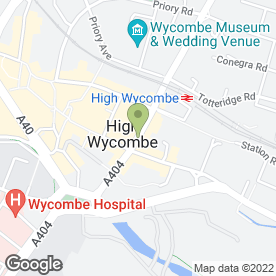 Map of Wye Residential Estate Agents in High Wycombe, buckinghamshire