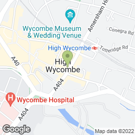 Map of Hurst Estate Agents in High Wycombe, buckinghamshire