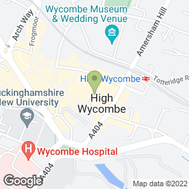 Map of Anglian Home Improvements (Anglian Windows Ltd) in High Wycombe, buckinghamshire