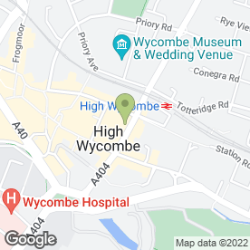 Map of Wok2go in High Wycombe, buckinghamshire