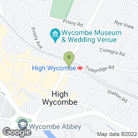 Map of Domino's Pizza in High Wycombe, buckinghamshire