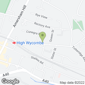 Map of Peking House in High Wycombe, buckinghamshire