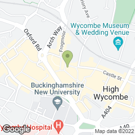 Map of Sally Salon Services in High Wycombe, buckinghamshire
