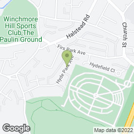 Map of ReyAmore Hair & Make Up Artist in Winchmore Hill, London, london