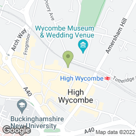 Map of Weddings & All That Jazz in High Wycombe, buckinghamshire