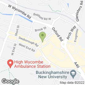 Map of Budget Car Hire in High Wycombe, buckinghamshire