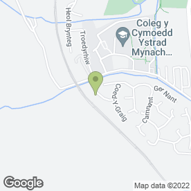 Map of Contact Playgroup in Ystrad Mynach, Hengoed, mid glamorgan