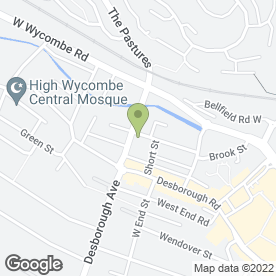 Map of National Tyres and Autocare in High Wycombe, buckinghamshire