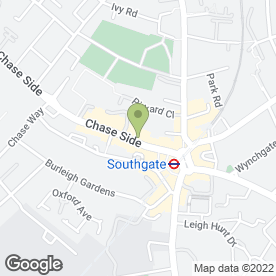 Map of HOB Salons in London, london