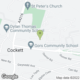 Map of P V M Web Design in Townhill, Swansea, west glamorgan