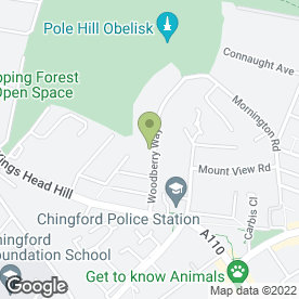 Map of Sue's Sewing in Chingford, London, london