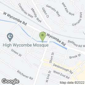 Map of Westlake Motor Services Ltd in High Wycombe, buckinghamshire