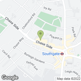 Map of The New Crown in Southgate, London, london