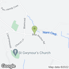 Map of Greenfinger Garden & Landscaping Services in Swansea, west glamorgan