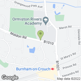 Map of Cleanrite Ltd in Burnham-On-Crouch, essex