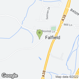 Map of GL Heating in Falfield, Wotton-Under-Edge, gloucestershire