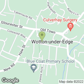 Map of E C & D Ltd in Wotton-Under-Edge, gloucestershire