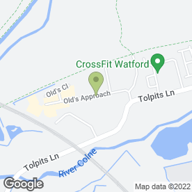 Map of Watford Timber Co.Ltd in Watford, hertfordshire