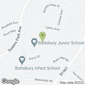 Map of Vaughan / Shalloe Duo in Billericay, essex