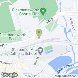 Map of Astra Corp Ltd in Rickmansworth, hertfordshire