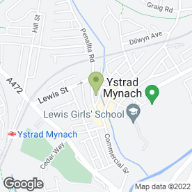 Map of Ashburne Print & Copy in Ystrad Mynach, Hengoed, mid glamorgan
