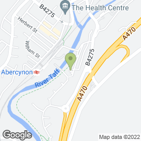 Map of Ade Plastering Services in Abercynon, Mountain Ash, mid glamorgan