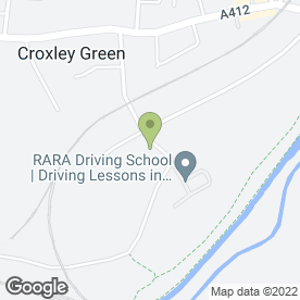 Map of Jade Lewis Mobile Hairdressing in Croxley Green, Rickmansworth, hertfordshire