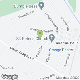 Map of Kumon maths and English study centre (Grange Park) in LONDON, london