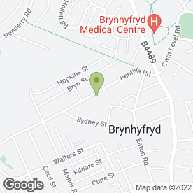 Map of TOTAL WASTE MANAGEMENT in Brynhyfryd, Swansea, west glamorgan