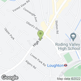 Map of Intoto Loughton in Loughton, essex