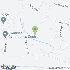 Map of LAKESIDE SECURITY GARAGE DOORS in Fforestfach, Swansea, west glamorgan