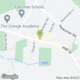 Map of Crown Costs Consultants Ltd in Bushey, hertfordshire
