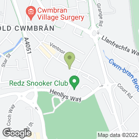 Map of C.P.C Business Services in Cwmbran, gwent