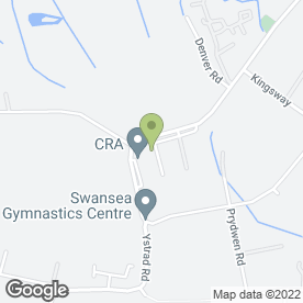 Map of SERENDIPITY FURNITURE in Fforestfach, Swansea, west glamorgan