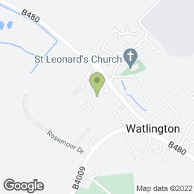 Map of THOMAS FABRICATIONS LTD in Watlington, oxfordshire