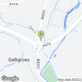 Map of Blackwood Chainsaws Ltd in Blackwood, gwent