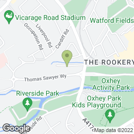 Map of Watford Refrigeration & Air Conditioning Ltd in Watford, hertfordshire