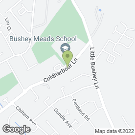 Map of Bushey Plumbing & Heating - Boiler Breakdowns in Bushey, hertfordshire