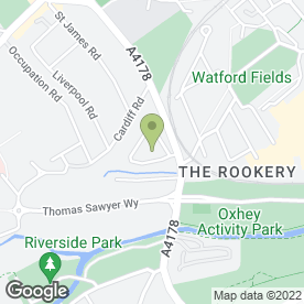 Map of Bloc Direct in Watford, hertfordshire