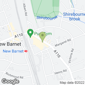 Map of HSS Hire in Barnet, hertfordshire