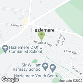 Map of Highfield Surgery in Hazlemere, High Wycombe, buckinghamshire
