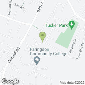 Map of FARINGDON CARS in Faringdon, oxfordshire