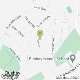 Map of Vivid Beauty Cuts in Bushey, hertfordshire