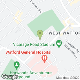 Map of Kerrie's Cuts in Watford, hertfordshire