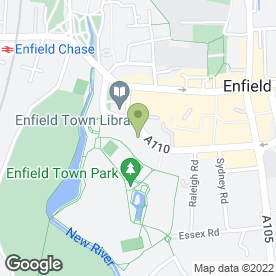Map of The Town Surgery in Enfield, middlesex