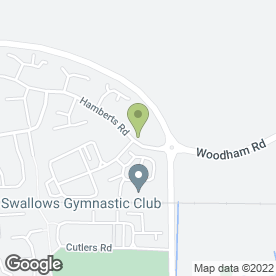 Map of Rudiemods in South Woodham Ferrers, Chelmsford, essex