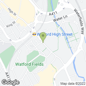 Map of Rumball Sedgwick in Watford, hertfordshire